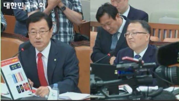 한승희 국세청장 후보자 인사청문회 현장. 사진=국회방송 캡처