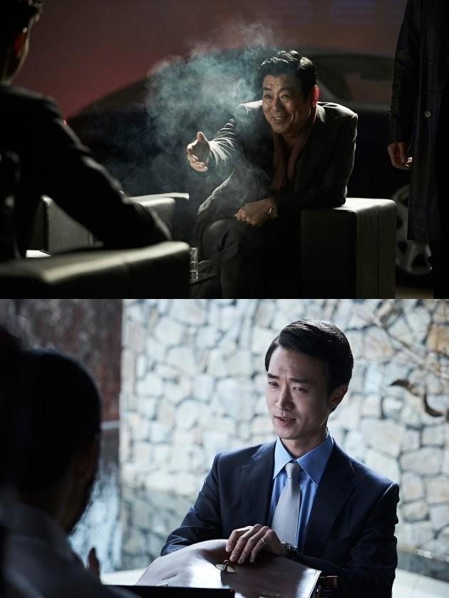 영화 '리얼' 성동일 조우진 /사진=코브픽쳐스 제공