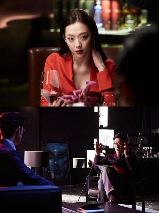 영화 '리얼' 최진리, 이성민 /사진=코브픽쳐스 제공