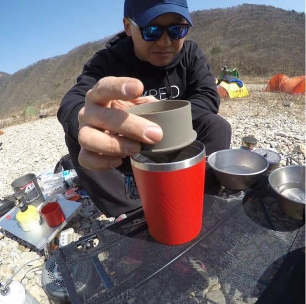 캠핑찌라시 김민수가 추천하는 캠핑 잇템 - '카플라노 커피 드리퍼'