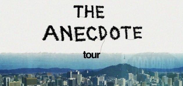 이센스  'The Anecdote' 콘서트 투어