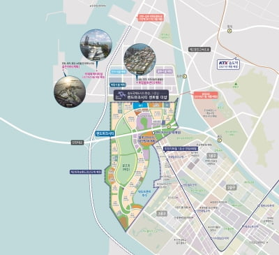 [랜드마크시티 센트럴 더샵②입지]개발 호재 풍부한 랜드마크시티 중심 입지