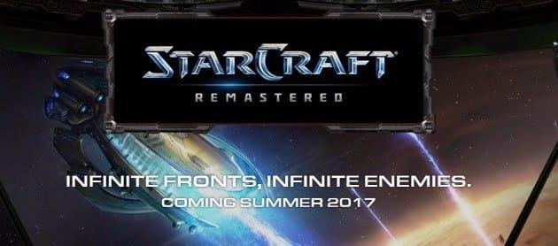 스타크래프트 리마스터. 블리자드 홈페이지 캡처