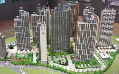 구리 도심에 들어서는 중소형 아파트 'e편한세상 구리수택'