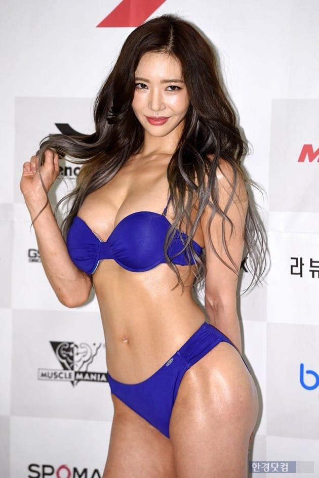 피트니스모델 이연화, 사진 / 최혁 기자
