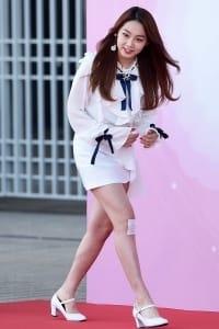 구구단 미나, '무릎 다쳤어요~'(드림콘서트)