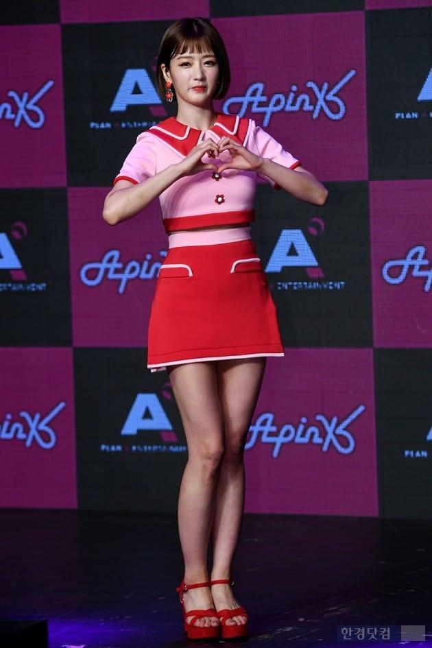 그룹 에이핑크 윤보미 / 사진=최혁 기자