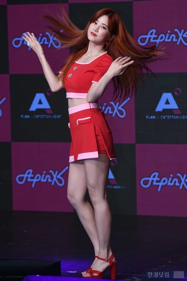 그룹 에이핑크 박초롱 / 사진=최혁 기자