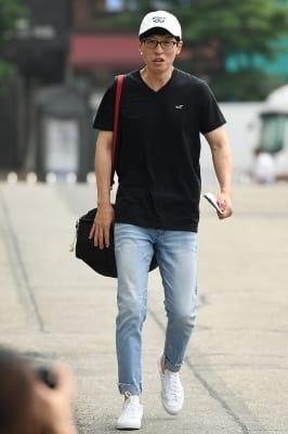 유재석, '유느님도 많은 취재진에 당황'