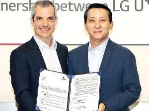 LG유플러스, 유럽 최대 통신사와 손잡고 IoT 사업 박차