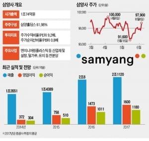'알짜 자회사' 상장 앞둔 삼양사, 실적 '날개' 달까