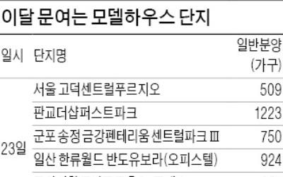 """""""6·19 대책에도 예정대로""""…이달 14개 단지 분양"""