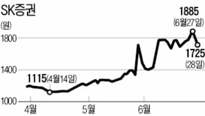SK증권 인수전에 호반건설 '깜짝 참여'