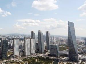 송도국제도시 아파트 전세 3.3㎡당 평균 1000만원 돌파