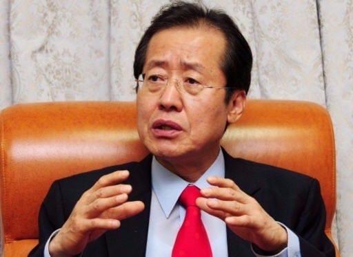 홍준표 자유한국당 대선 후보. 사진=한경DB
