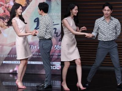 '수상한데~' 임윤아·임시완, 신혼부부 포스 '찌릿'