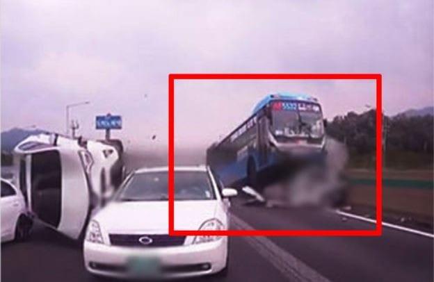 경부고속도로 사고 블랙박스 영상