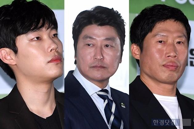 '택시운전사' 송강호 유해진 류준열 /사진=최혁 기자