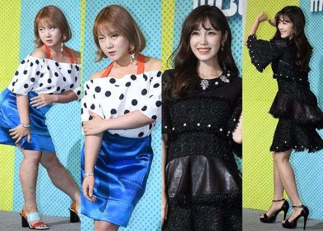 '비디오스타' 박나래 전효성  /사진=변성현 기자