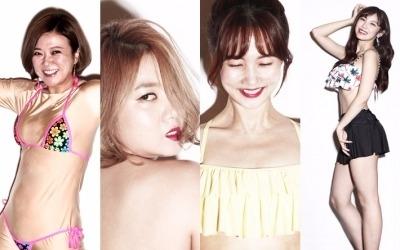 오늘은 비키니 스타…'비디오스타' 김숙·박소현·박나래 전효성, 충격과 섹시 사이