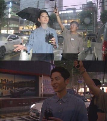 '한밤' 송중기