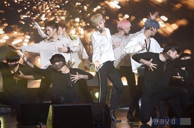 아이돌 그룹 뉴이스트. / 사진=최혁 한경닷컴 기자