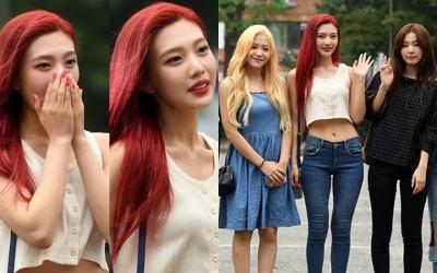 레드벨벳 조이, 언니들 압살하는 8등신 S라인