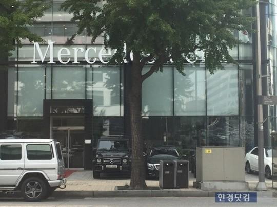 서울 강남에 위치한 메르세데스벤츠 전시장. (사진=한경닷컴)