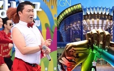 '싸이도 반대'…4억 짜리 '강남스타일' 동상 세워진 이유
