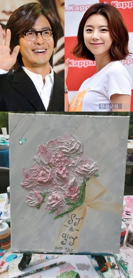 박수진 배용준 결혼 2주년 /사진=한경DB, 인스타그램