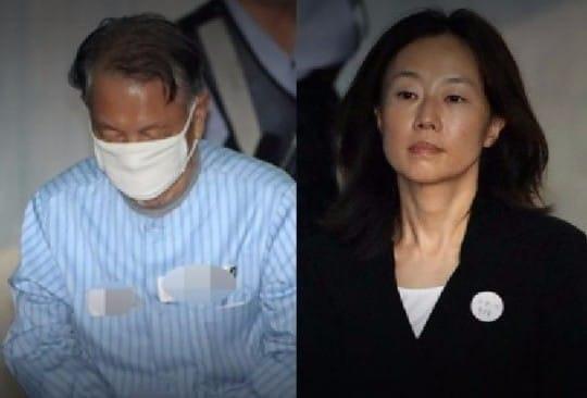 김기춘 조윤선 /사진=연합뉴스TV