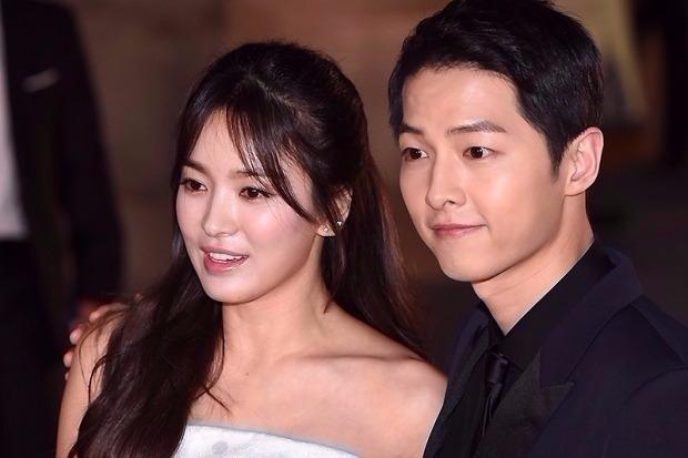 송중기♥송혜교, '태양의 후예' 촬영 전부터 교제?…오작교는 조인성
