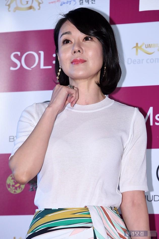 배우 김윤진 / 사진=최혁 기자