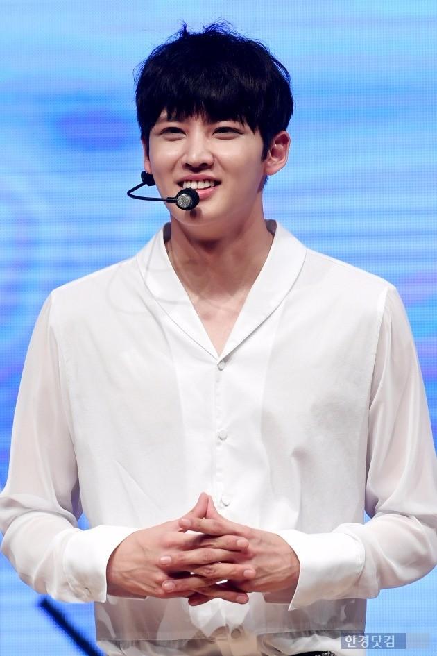 그룹 헤일로 인행, '심쿵 미소'