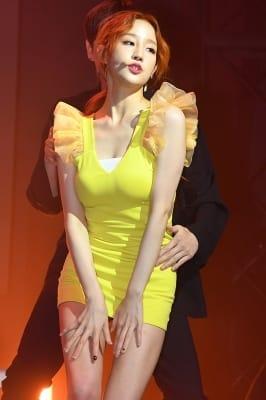 박보람, 요염하게 '우~'