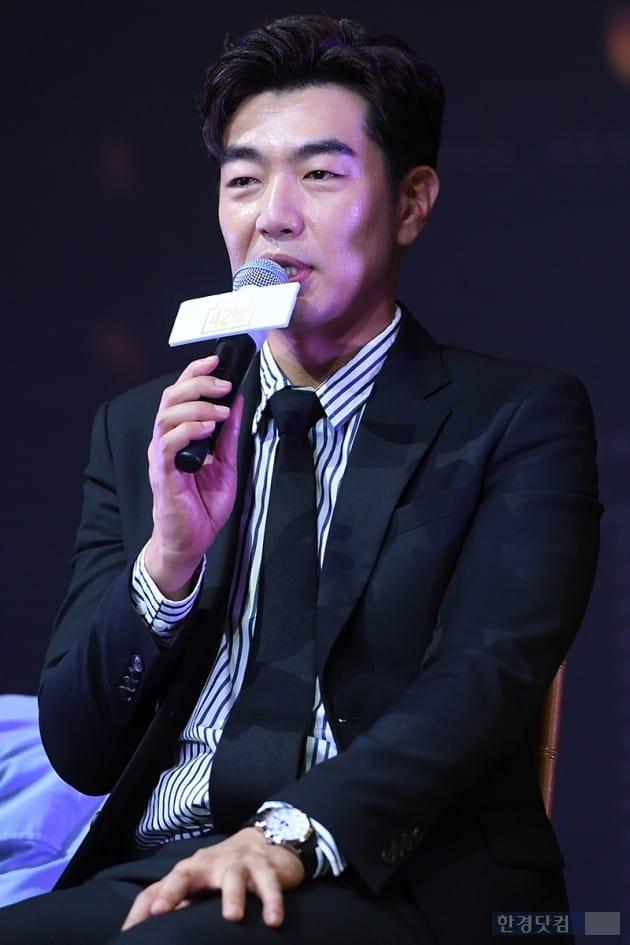 뮤지컬 '브로드웨이 42번가' 제작발표회 배우 이종혁 / 사진=최혁 기자