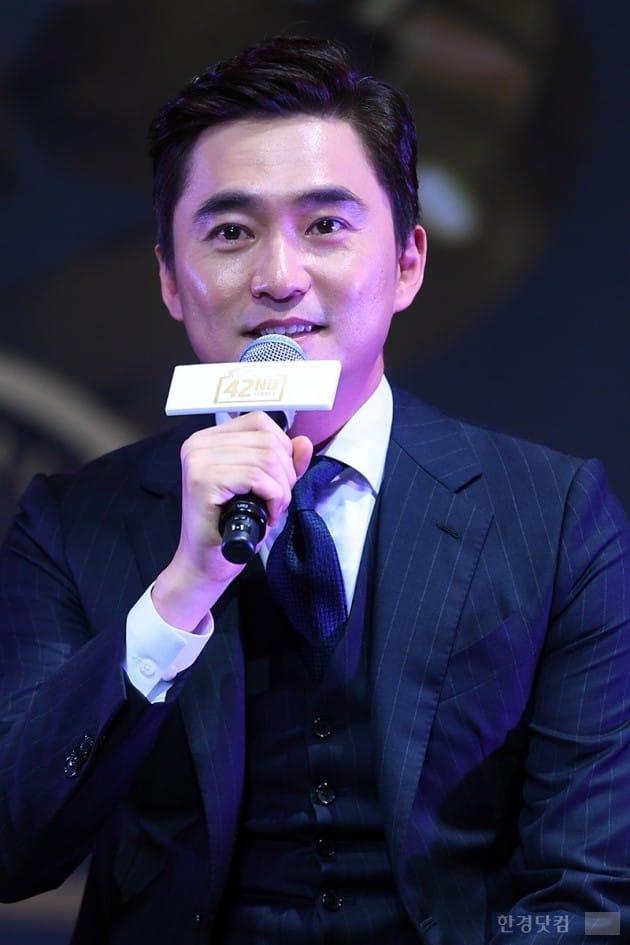 뮤지컬 '브로드웨이 42번가' 제작발표회, 배우 김석훈 / 사진=최혁 기자