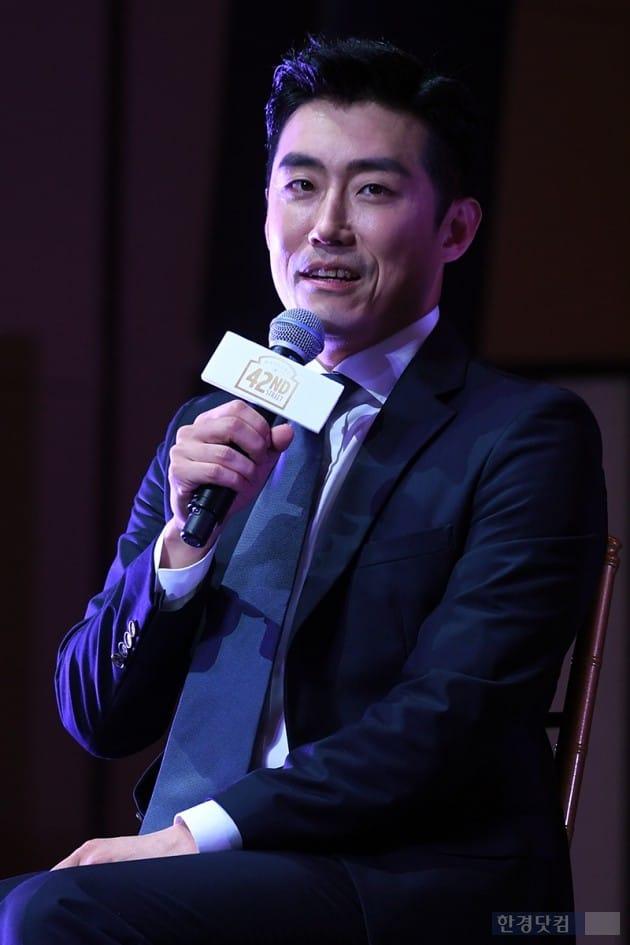 뮤지컬 '브로드웨이 42번가' 제작발표회, 배우 전재홍 / 사진=최혁 기자