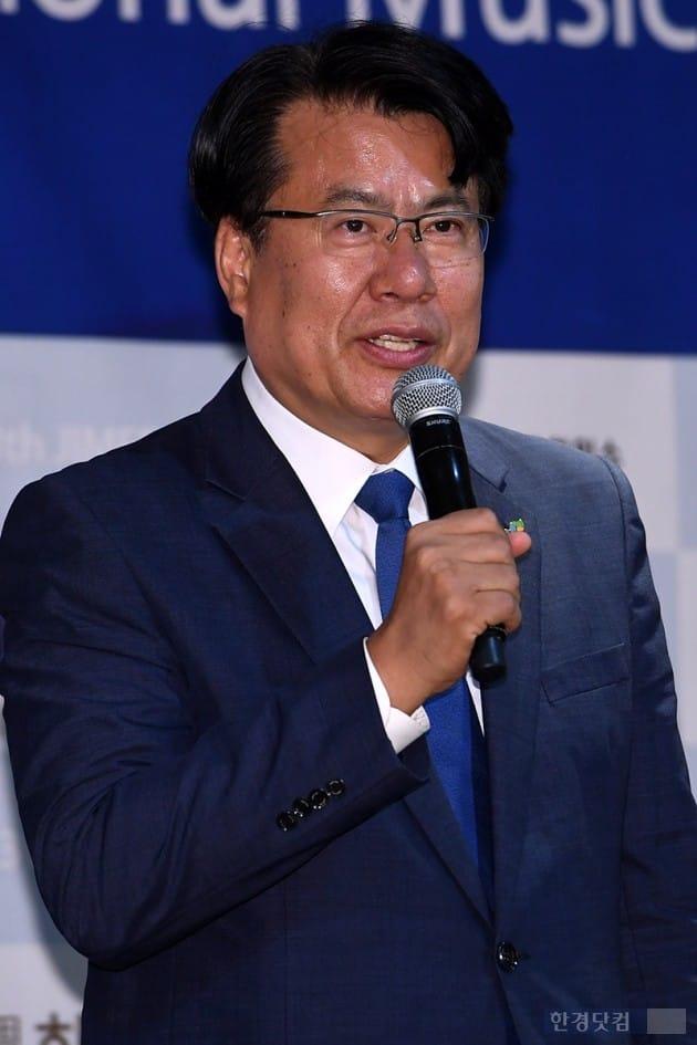 제천국제음악영화제 이근규 조직위원장 / 사진=최혁 기자