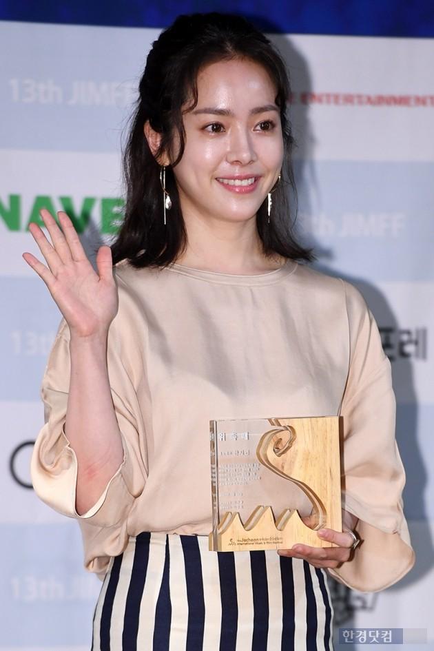배우 한지민 / 사진=최혁 기자