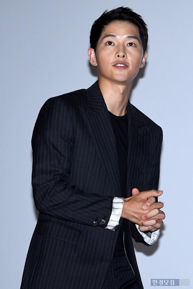 배우 송중기 / 사진=최혁 기자