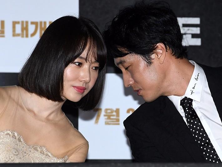 배우 이정현, 소지섭 / 사진=최혁 기자