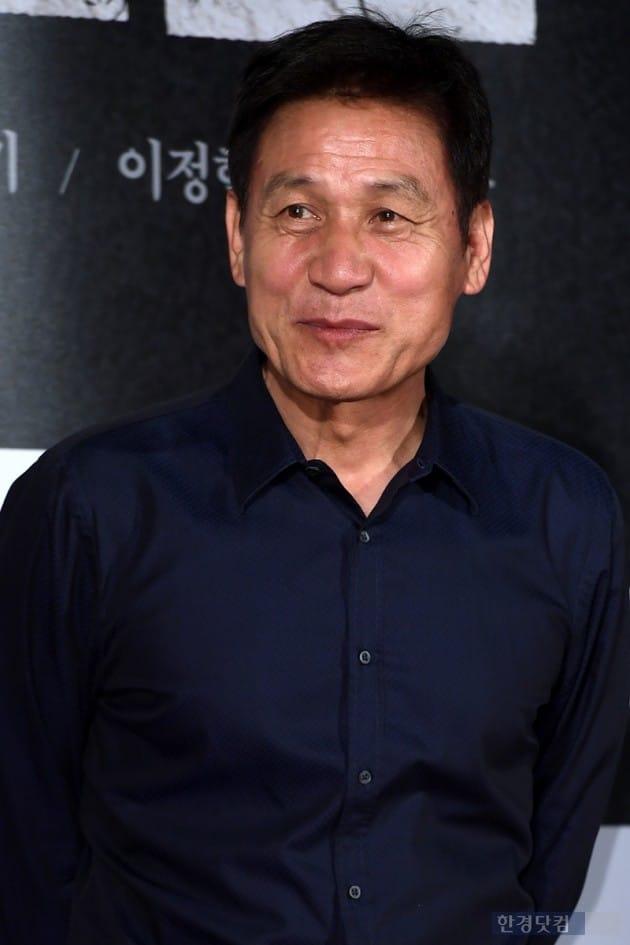 배우 안성기 / 사진=최혁 기자