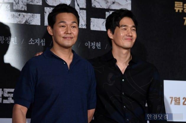 배우 박성웅, 유지태 / 사진=최혁 기자