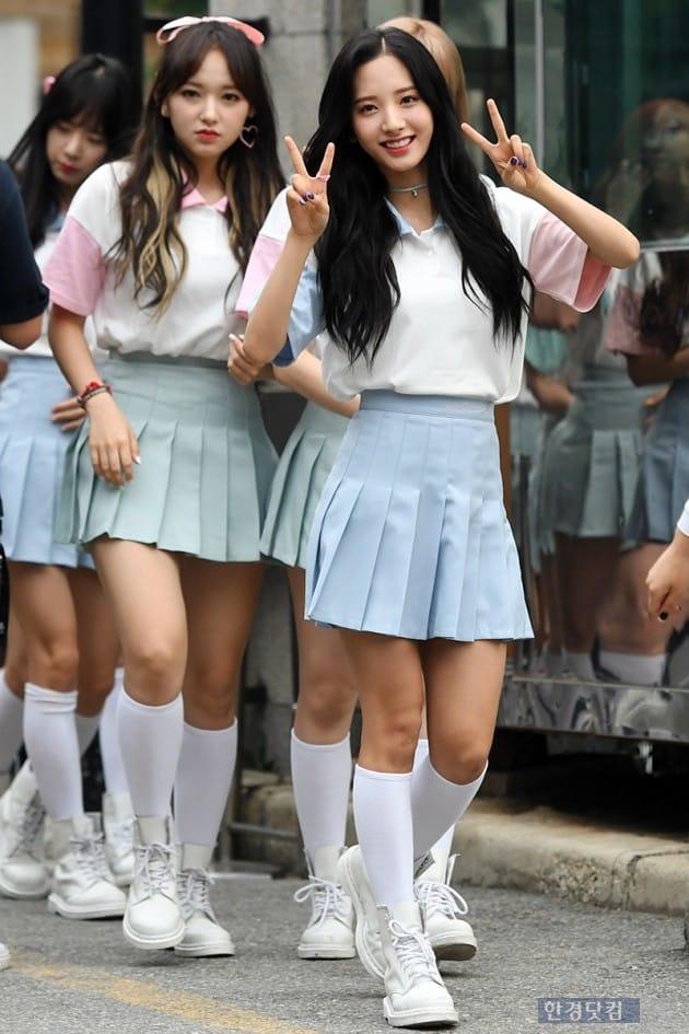 그룹 우주소녀 보나 / 사진=최혁 기자