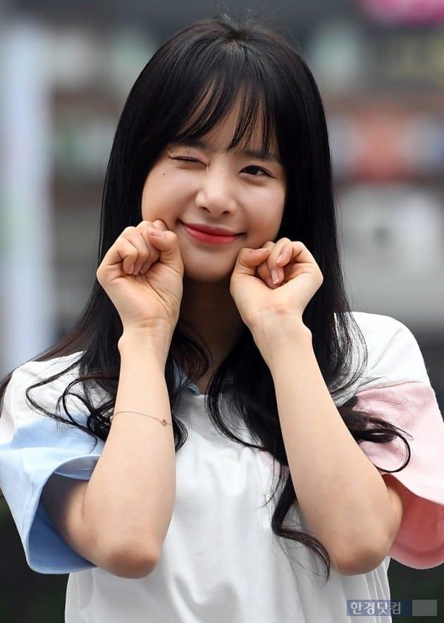 그룹 우주소녀 설아 / 사진=최혁 기자