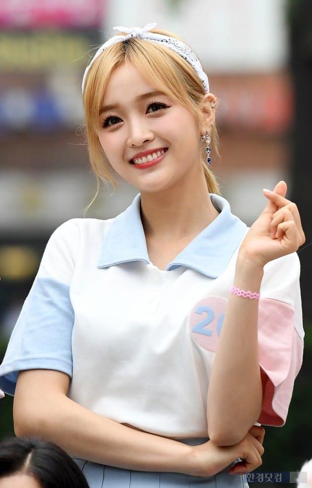 그룹 우주소녀 선의 / 사진=최혁 기자