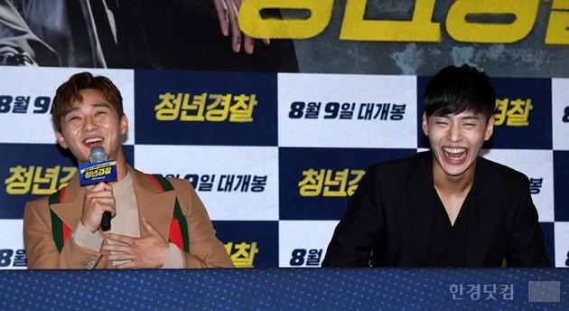 '청년경찰' 박서준, 강하늘 / 사진=최혁 기자