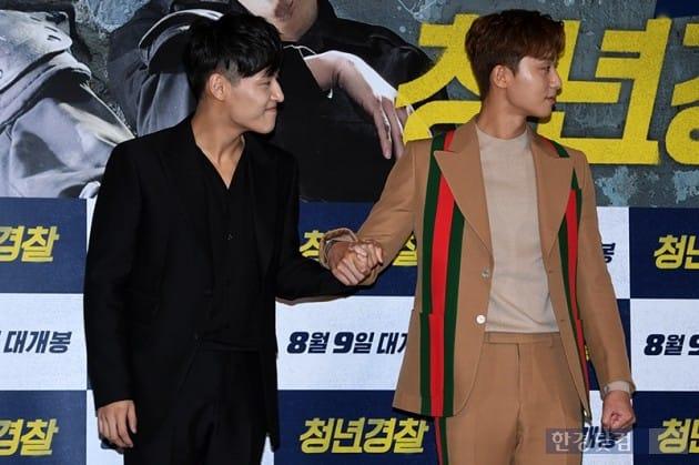 배우 박서준, 강하늘 / 사진=최혁 기자