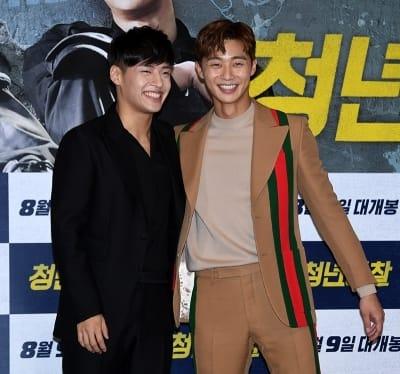 강하늘-박서준, '근래 본 적 없는 케미'